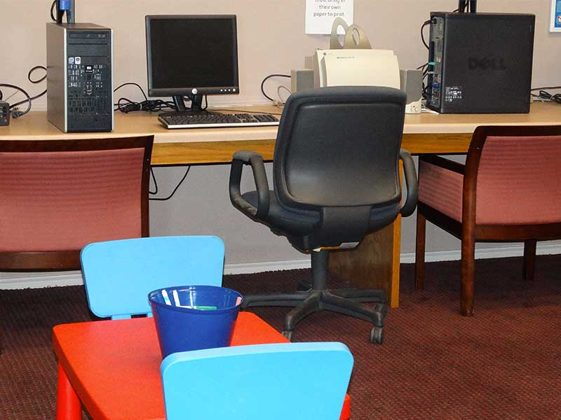 Equipment in Computer Lab